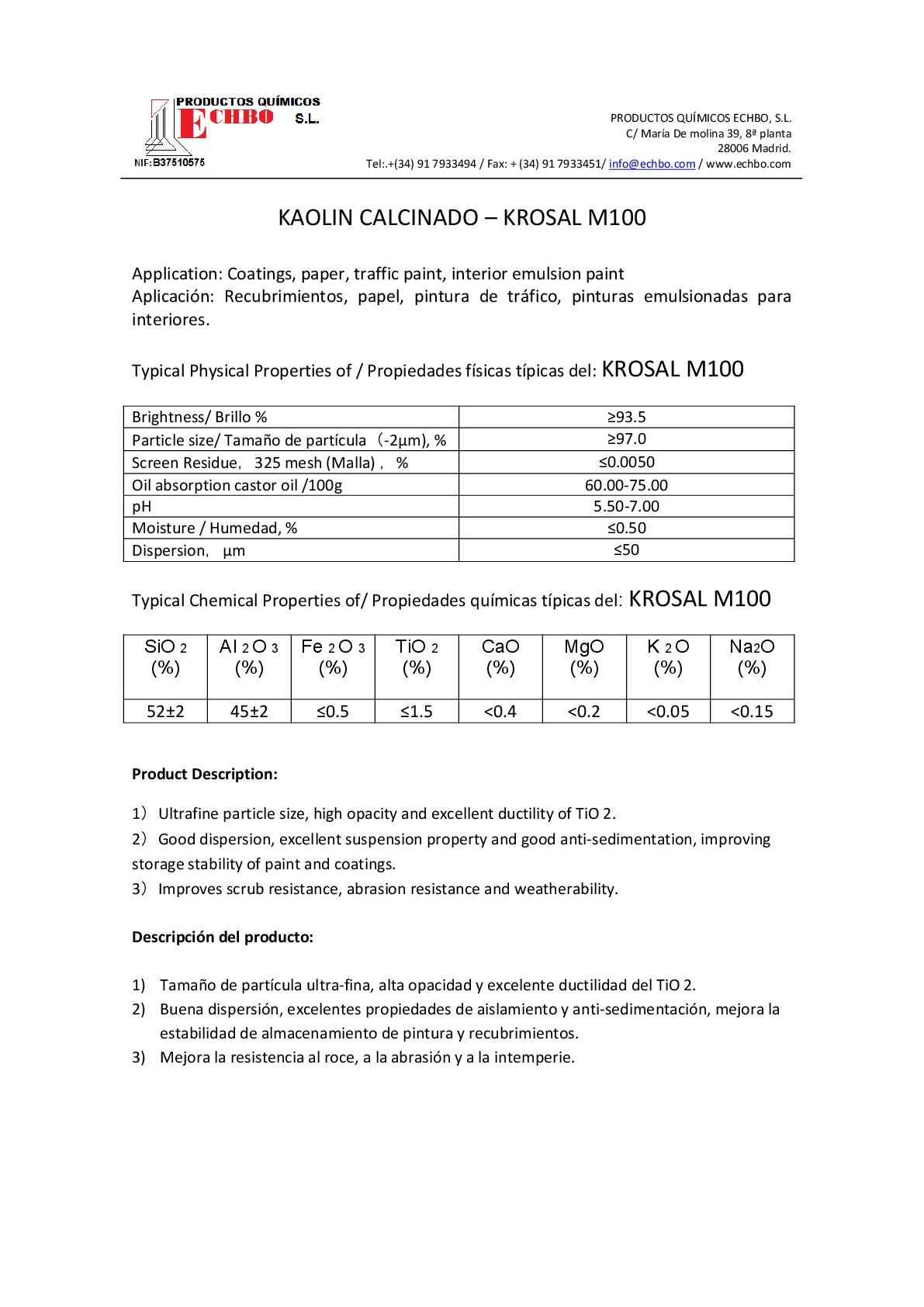 MDS KROSAL M100