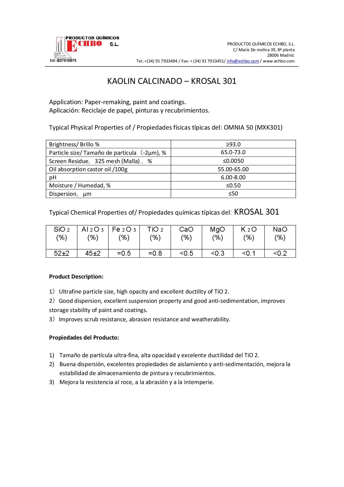 MDS KROSAL 301