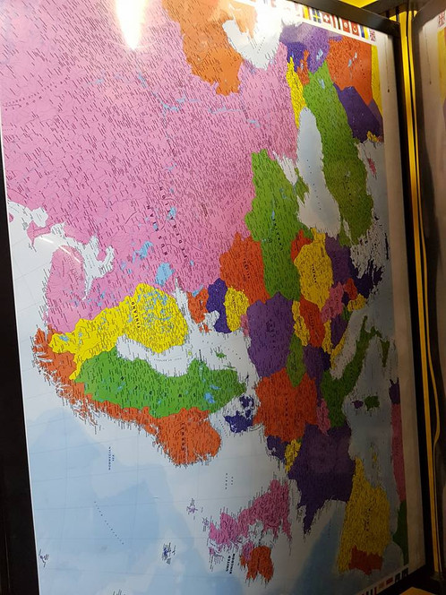 Map of world maxi poster will be sent in tube gumiabroncs Images