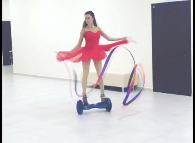 Гимнастика на гироскутере