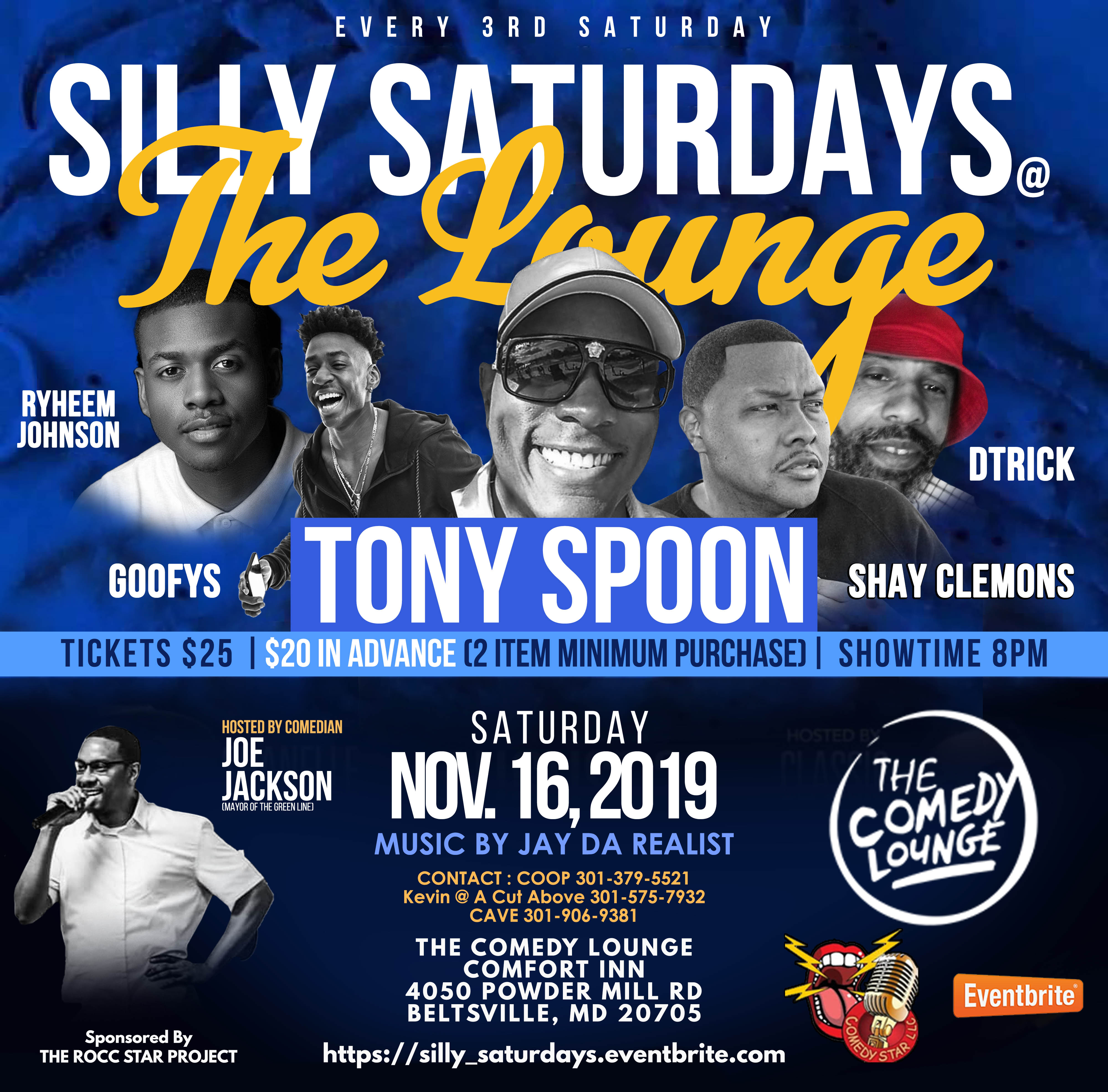 SILLY SATURDAYS Flyer