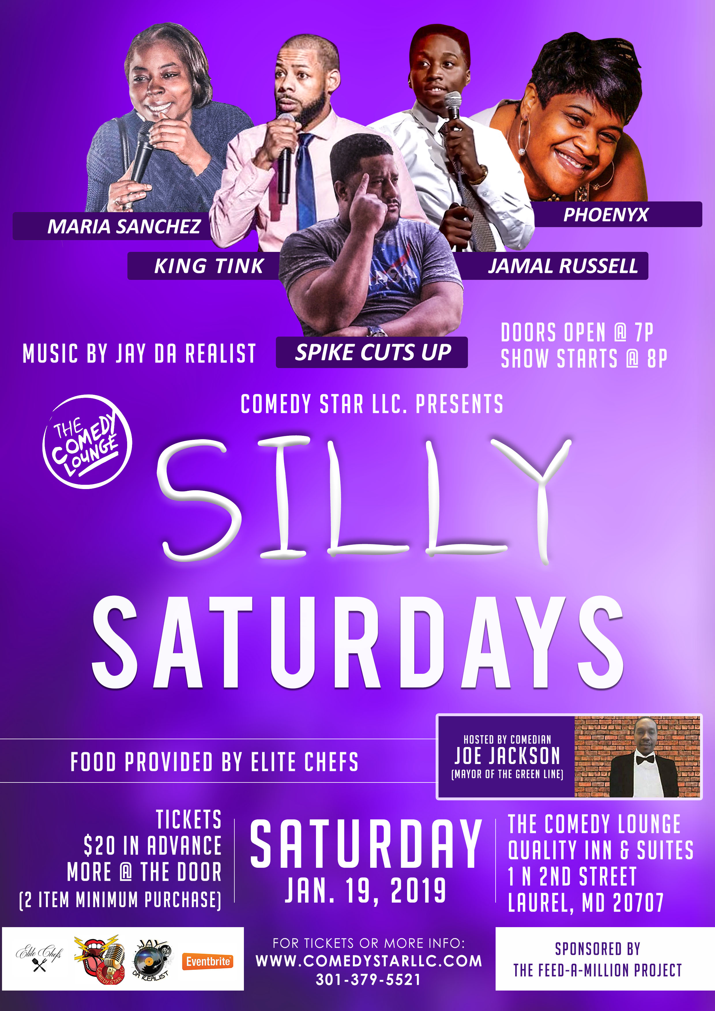 SILLY SATURDAYS @ THE LOUNGE