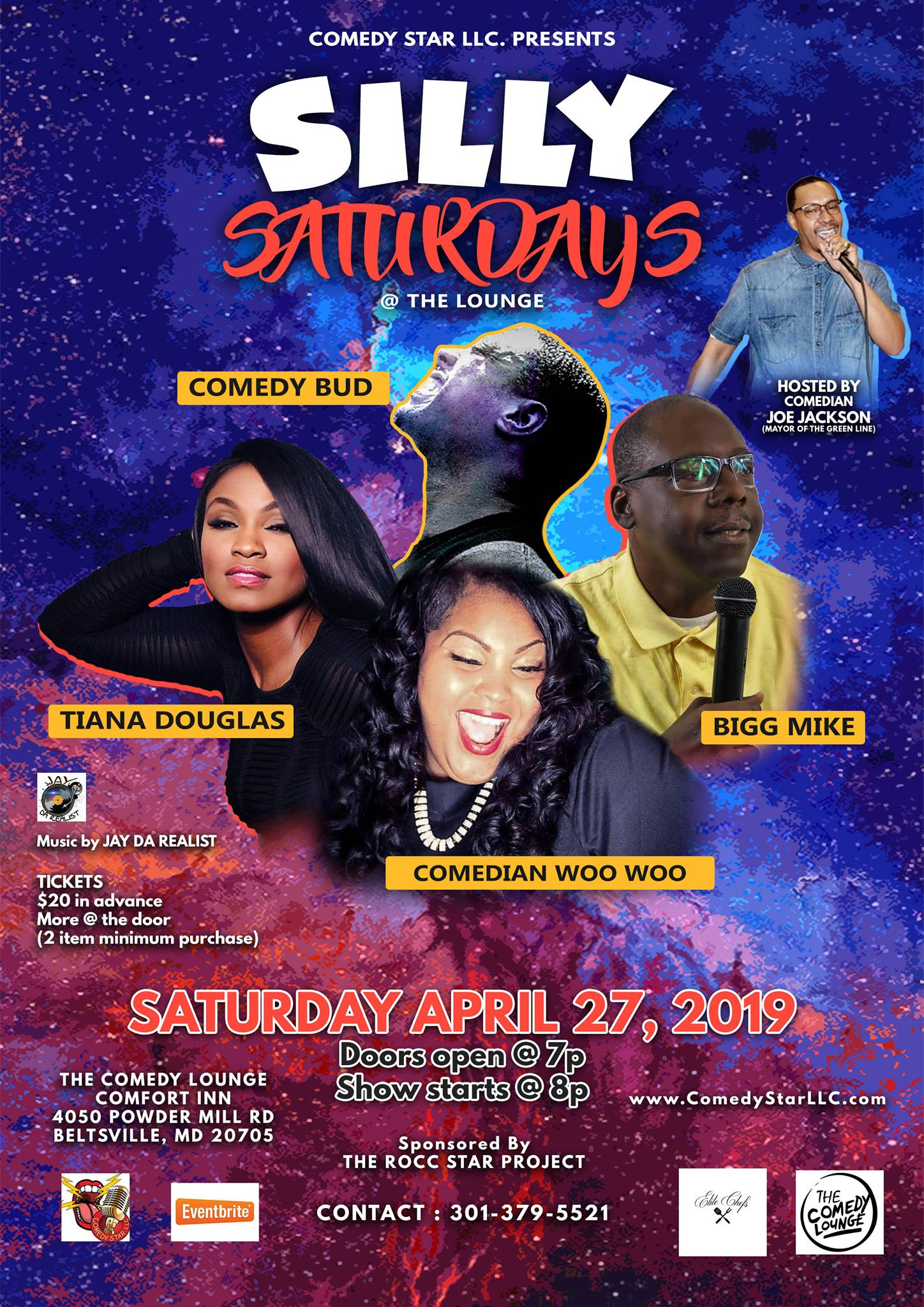 SILLY SATURDAYS @ THE LOUNGE ft COMEDY B