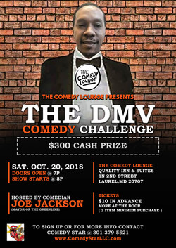Comedy Challenge Flyer 2
