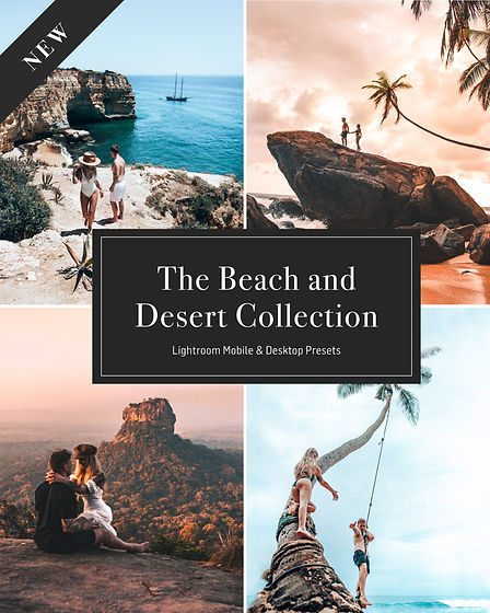 The Desert and Beach Collection - Collag