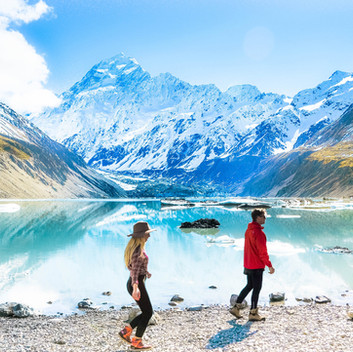 Mt. Cook, the tallest and most handsome peak on Middle-earth