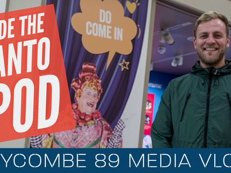 Inside The Customs House Panto Pod at The Word | Wycombe 89 Media Vlog #1