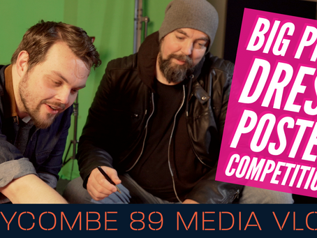 BIG PINK DRESS Documentary Poster Reveal & Competition | Wycombe 89 Media Vlog #2