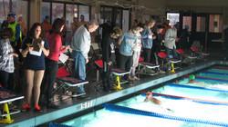 SRHS Swim team timers