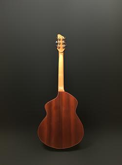 guitare acoustique padouk
