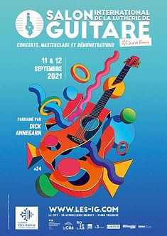 Salon-lutherie-guitare-toulouse-la-cité-occitanie-exposition-j-melis-guitar-wonderland