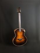 Guitae-Acoustique-sunburst-Luthier-J.Melis-Toulouse