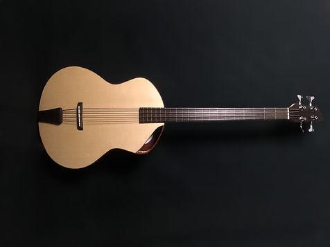 Basse-acoustique-toulouse_luthier-j.melis-guitares-fretless-jazz
