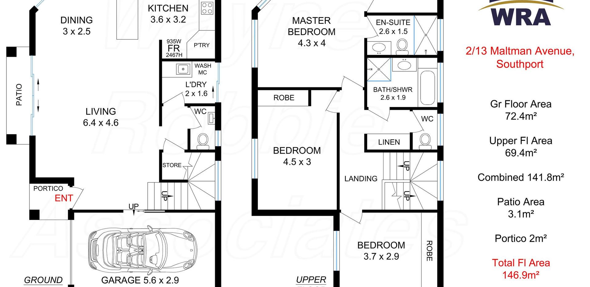 2-13 Maltman Avenue Southport Floor Plan