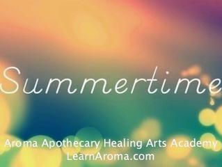 Summer Aromatherapy