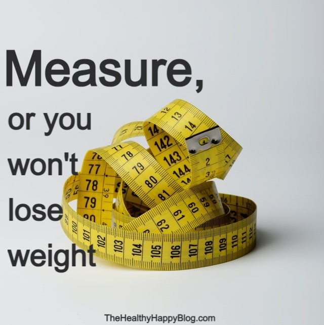 measure to lose weight