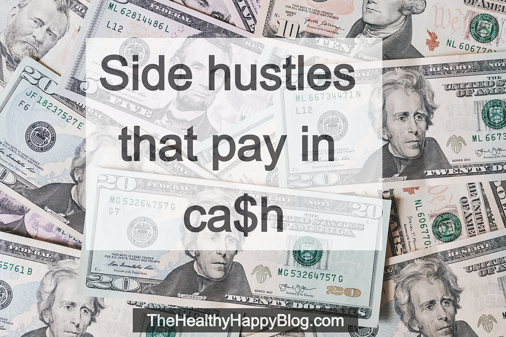 side hustles pay cash