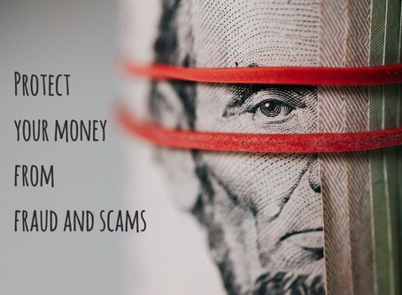 How to protect your money from fraud and scams