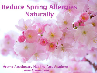 Reduce Spring Allergies Naturally
