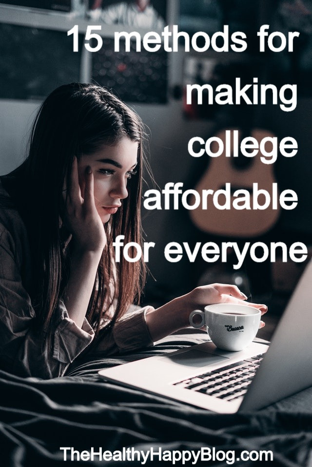 methods for making college affordable