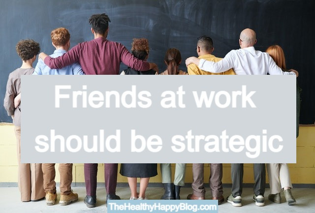career advice about friends at work