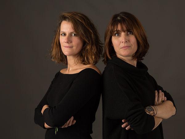 Hélène Farret et Pascaline Langellier-Bellevue