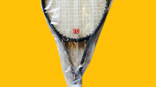 100 32x85cm Tennis Racquet / Racket Plastic bag cover