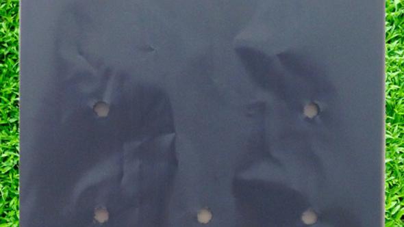 5Lt  50 Black Plastic Bags for Planter Growing Nursery Bags 17cmx24cm