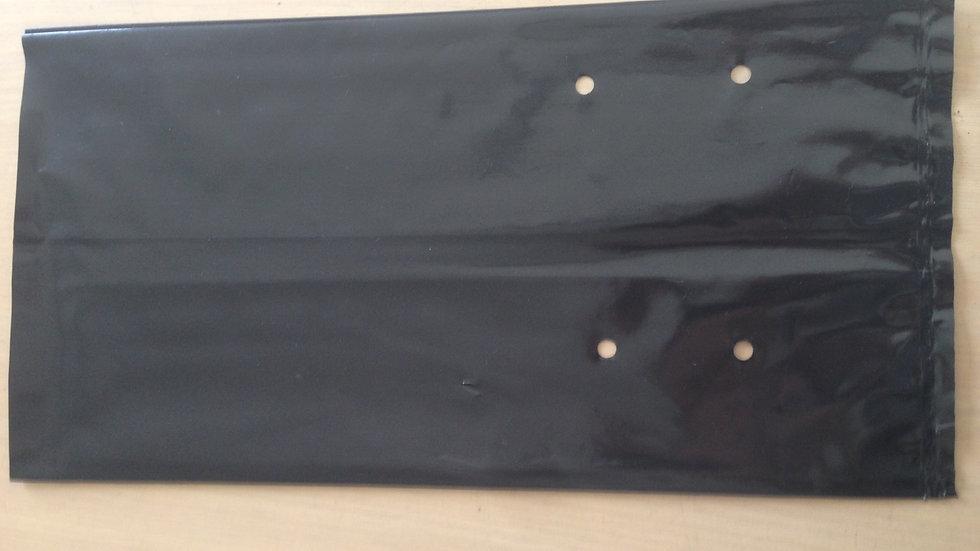 8 Lt 50 Premium Tall Black Planter Growing bag 20x34cm 160um Thickness