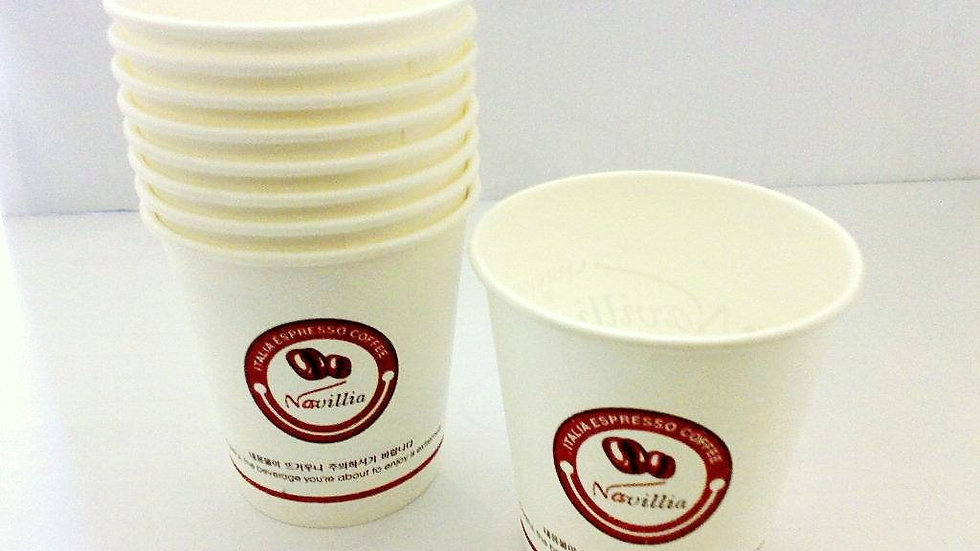 1000 Paper Cups Size  6.5oz 180ML
