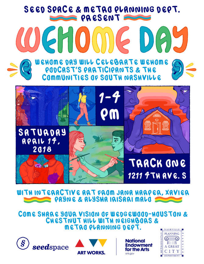 You're Invited to WeHome Day, April 14