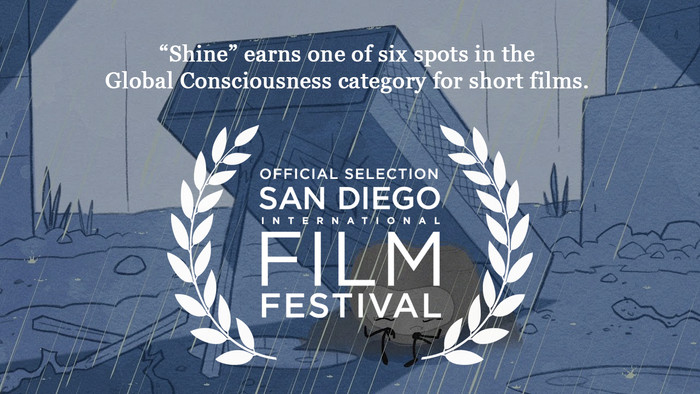 """Barrett Lewis directs and composes """"Shine"""" short film for Father Joe's Villages"""