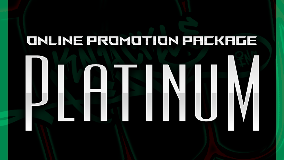 Platinum Online Promo Package