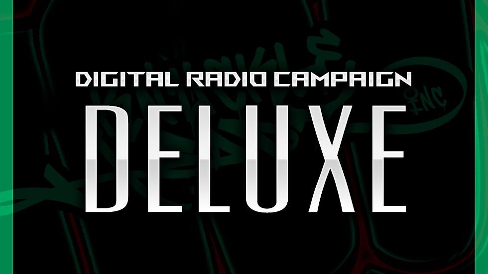 Digital Radio Campaign - Deluxe: 4800 Spins & Digital Distribution