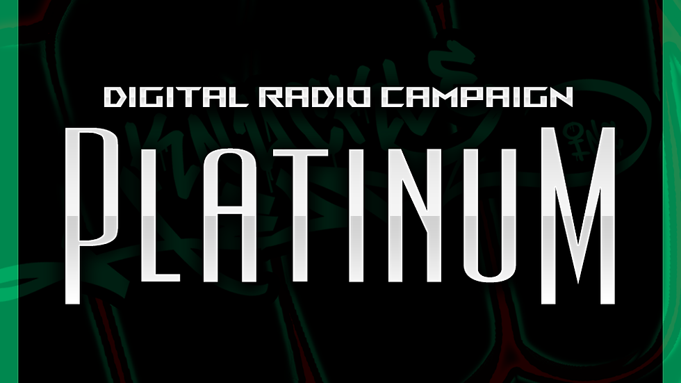 Digital Radio Campaign - Platinum: 8000 Spins & Digital Distribution
