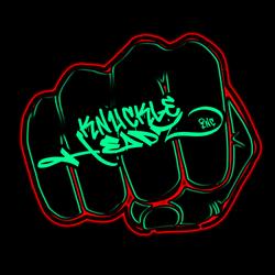 KH - Fist_ Atl logo Black background