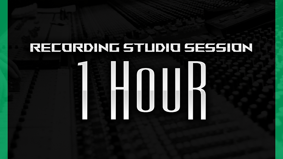 1 Hour - Track Recording Session