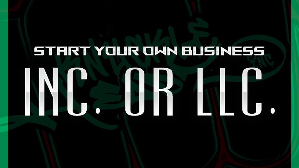 Inc. or LLC. Registration