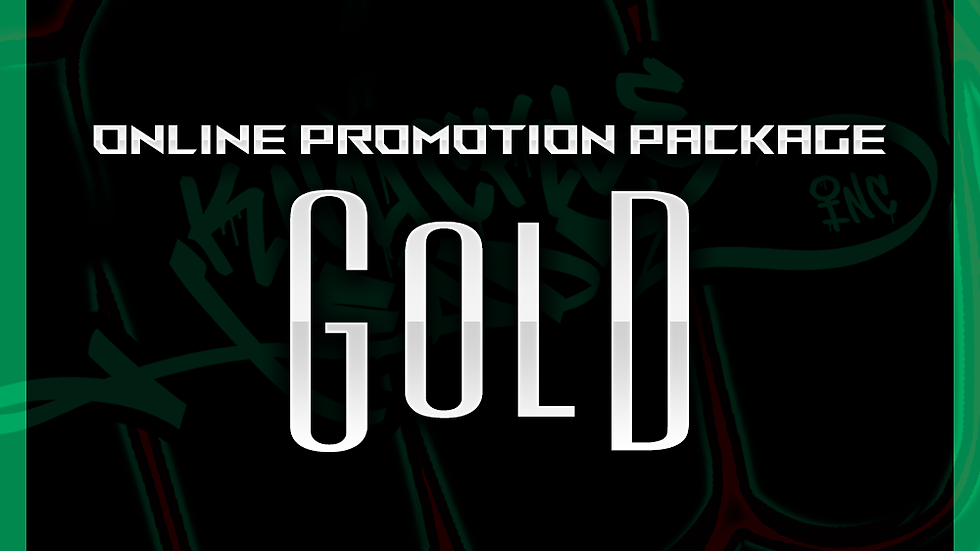 Gold Online Promo Package