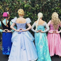 Orange County princess party
