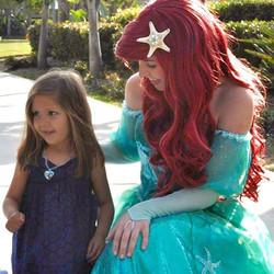 oc la princess birthday party