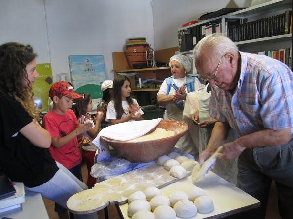 Fabrico de pão caseiro