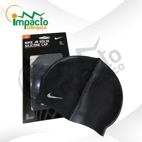 Gorro Nike Silicona Jr. Negro
