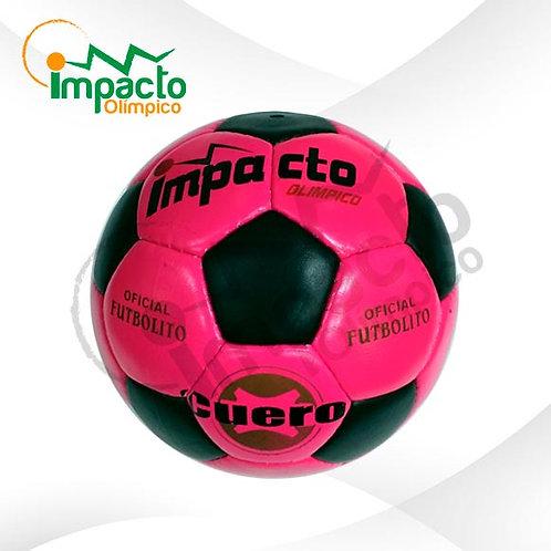 Balón Futbolito Cuero Impacto