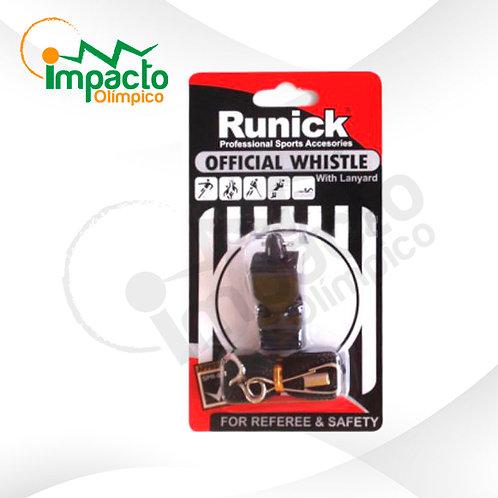 Pito Runick plástico