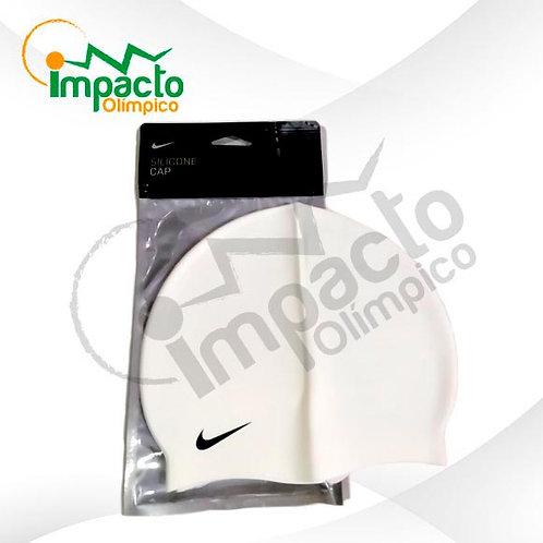 Gorro Nike Silicona Blanco