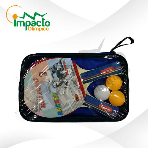 Set Doble Paletas Eco ping pong