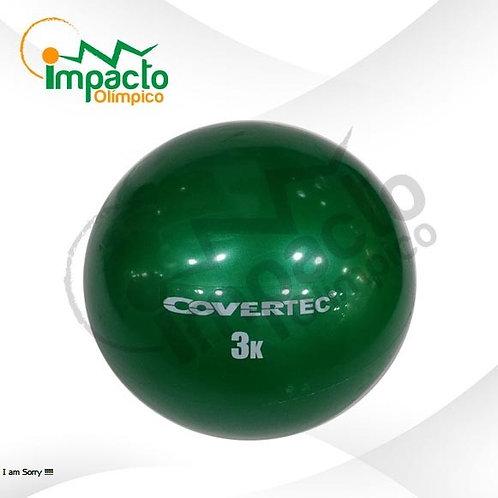 Balón Medicinal 3 kg Covertec