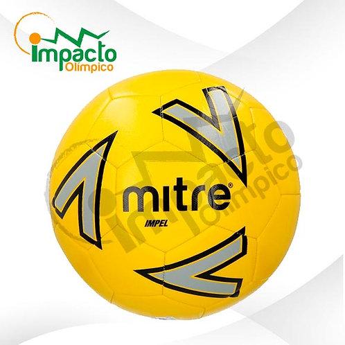 Balón fútbol Mitre New Impel Nº5 (Amarillo-gris)