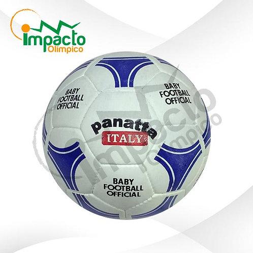 Balón Baby Fútbol cuero Panatta
